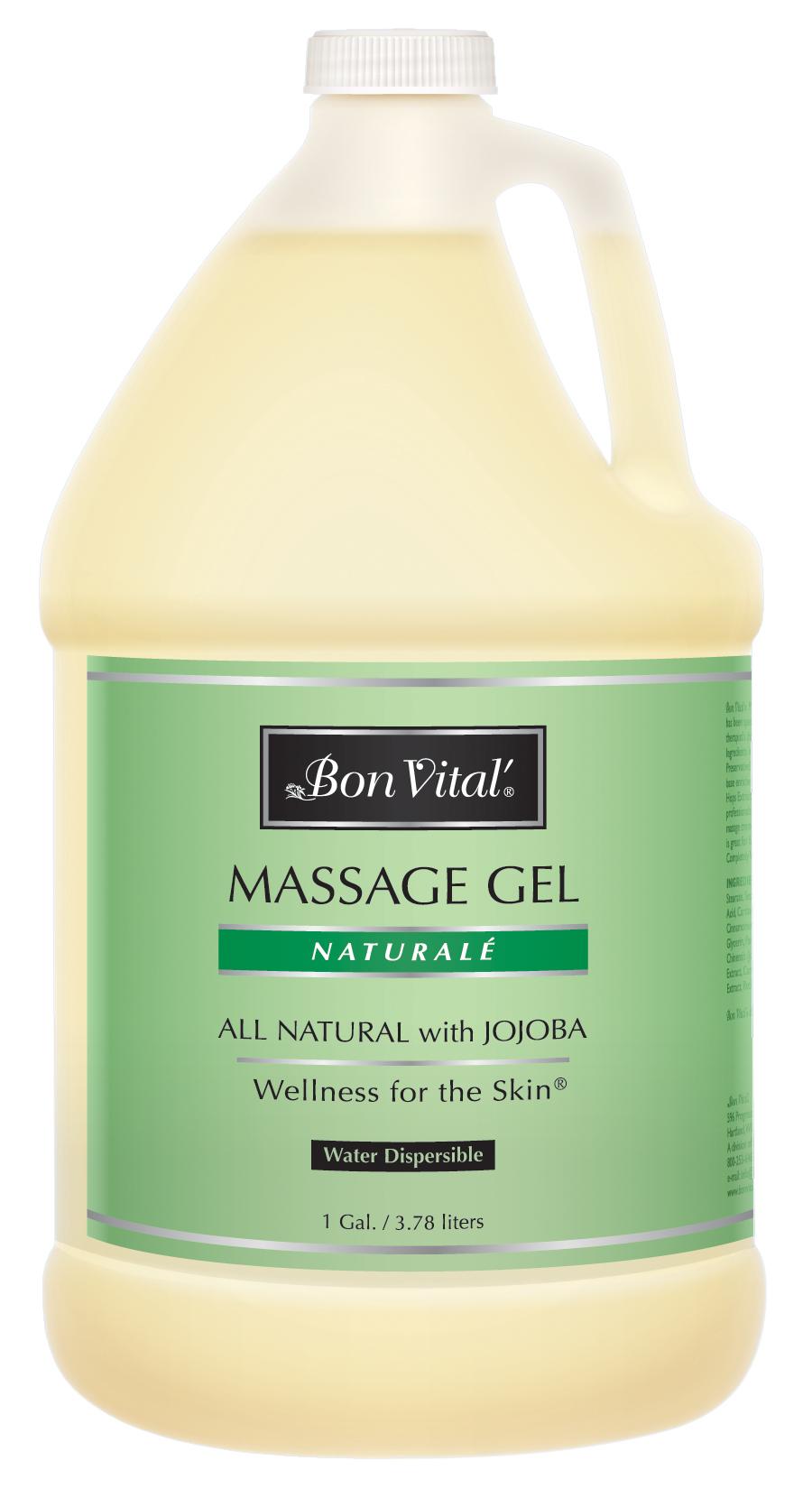 natural massage gel 1 gal bon vital 39. Black Bedroom Furniture Sets. Home Design Ideas