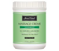 Naturalé Massage Crème 1/2 gal jar