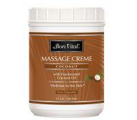 Bon Vital' Coconut Massage Creme - 1/2 gal