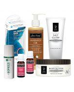 Bon Vital' Frozen Massagearita with Salt Treatment Kit for 4