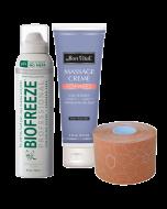 Bon Vital' Massage, Tape & Spray Treatment Trial Kit (1 treatment)