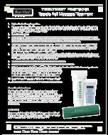 Bon Vital' Tootsie Roll Massage Treatment Trial Kit