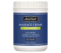 Bon Vital' All Purpose Massage Creme - 1/2 gal