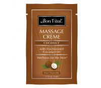 Bon Vital' Coconut Massage Creme - trial size