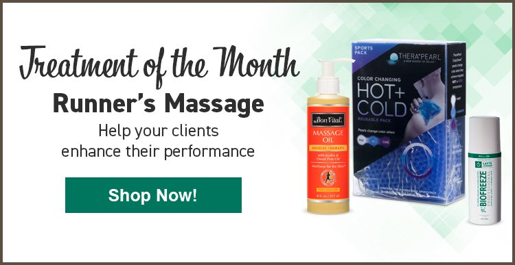 Runners Massage Treatment of the Month